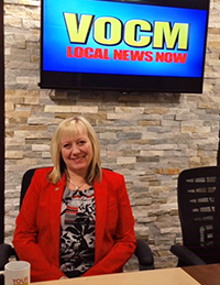 Cathy Dormody NAOSH Week 2018 VOCM Interview