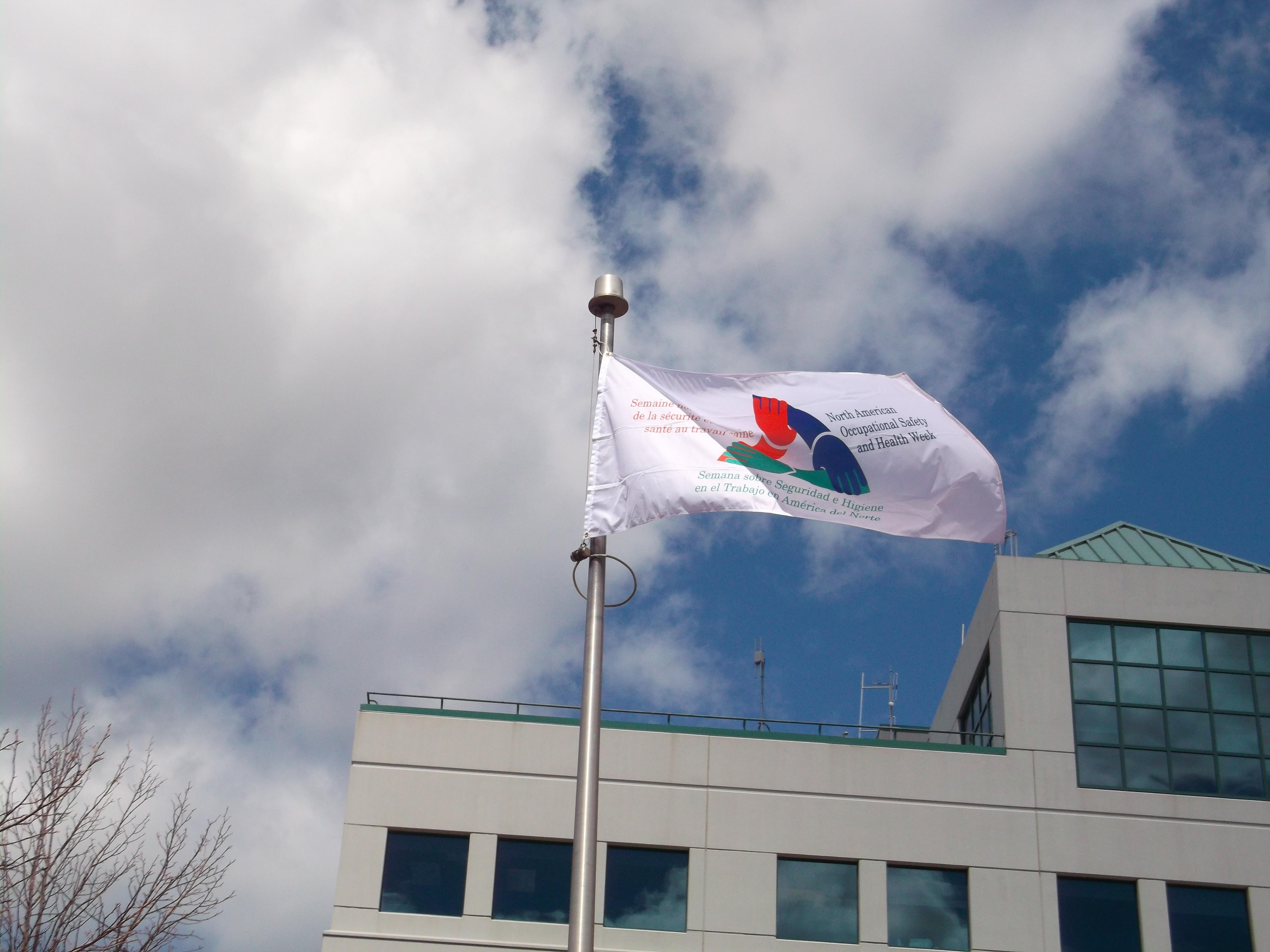 Raising of the Flag - Moncton